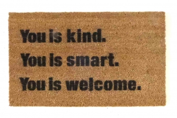Damn Good Doormats Art You Can Wipe Your Feet On From
