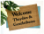 Welcome Theydies & Gentlethem LGBTQIA Pronouns Gay Pride doormat funny Door Mat