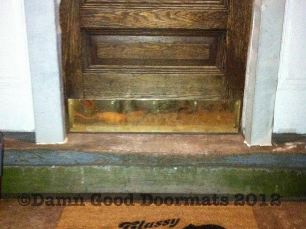 Bmore Rat Mat Damn Good Doormats