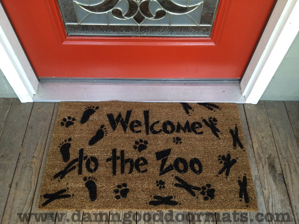 Welcome To The Zoo Expansion Damn Good Doormats