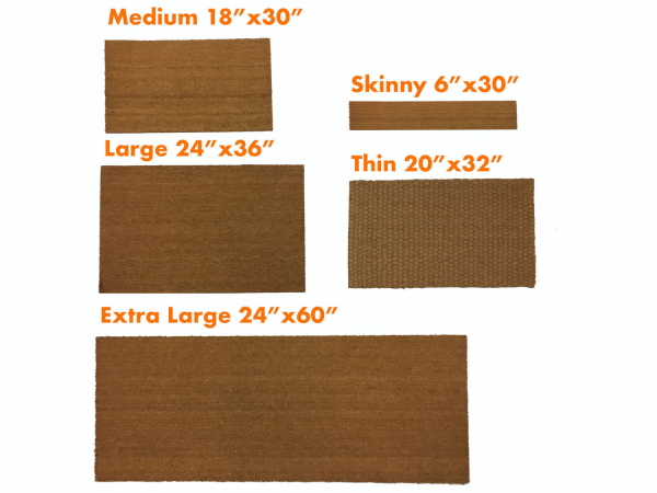 outdoor doormats,small mat,skinny door mat,thin,low profile,extra large doormat
