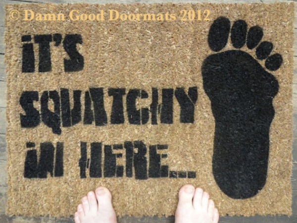 BIGFOOT Sasquatch doormat