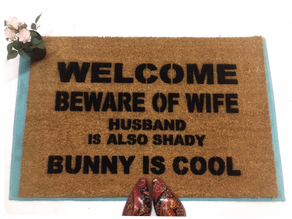 BUNNY is COOL, beware of wife, husband is also shady doormat