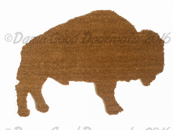buffalo bison america doormat