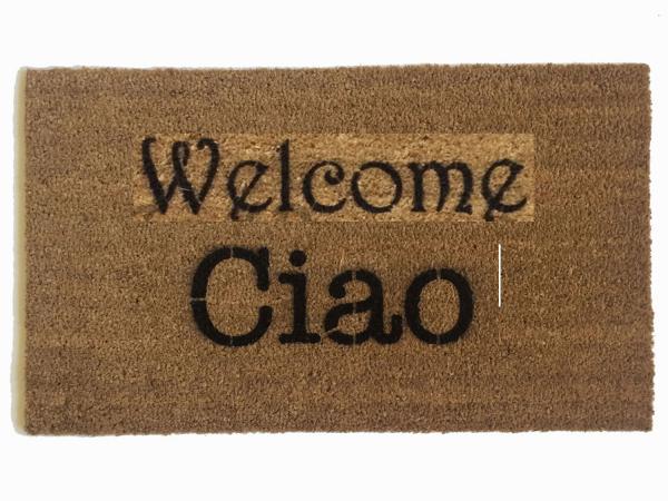 Ciao Italian doormat