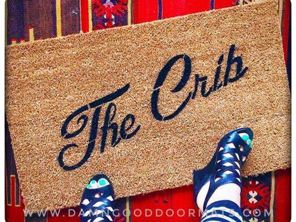 The Crib entrance doormat