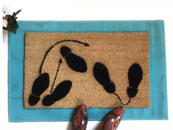 Dancing Feet doormat