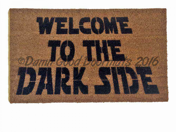 Darth Vader dark side Star Wars Yoda doormat