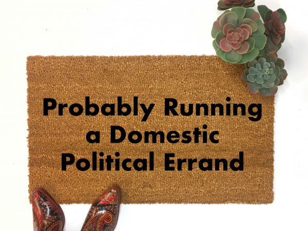 Domestic Political Errand Fiona Hill impeachment Trump doormat