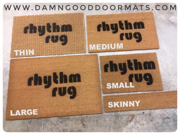 wipe your feet really good on the Rhythm Rug a tribe called quest ATCQ doormat