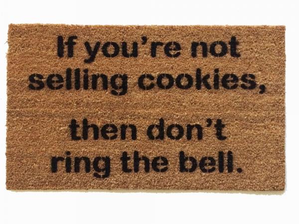 Girl Scout cookie doormat