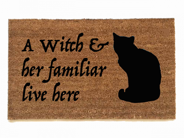 Wiccan Blessed Be Eclipse Moon Doormat Damn Good Doormats