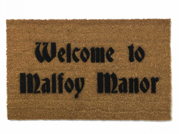 Welcome to Malfoy Manor, Harry Potter doormat
