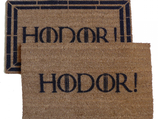 hodor, game of thrones, got, door mat, doormat