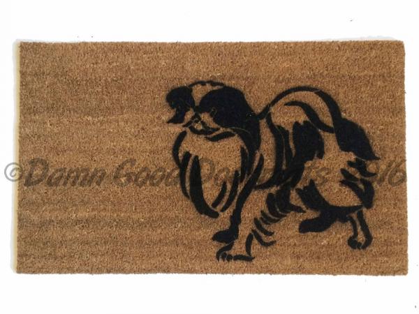 japanese chin dog doormat