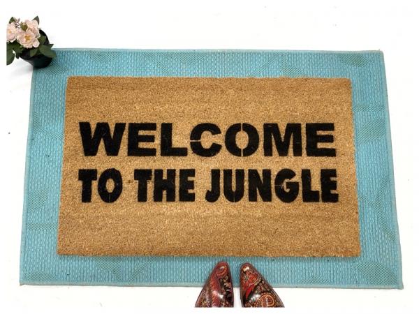 Welcome to the Jungle Gun N' Roses doormat