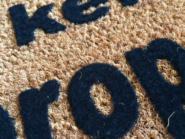 home alone,keister,funny,rude,property rights,, doormat,