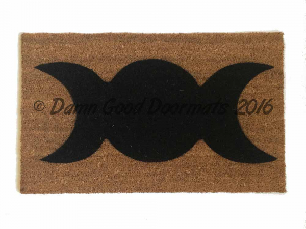 WICCAN Blessed be doormat