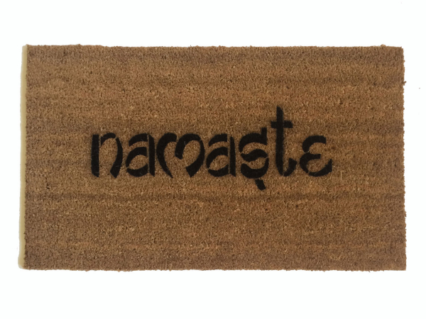 Namaste Hindu Yoga mat