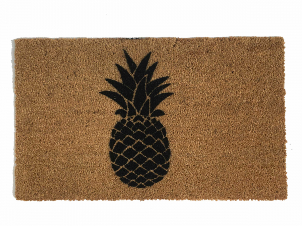 Pineapple boho style doormat