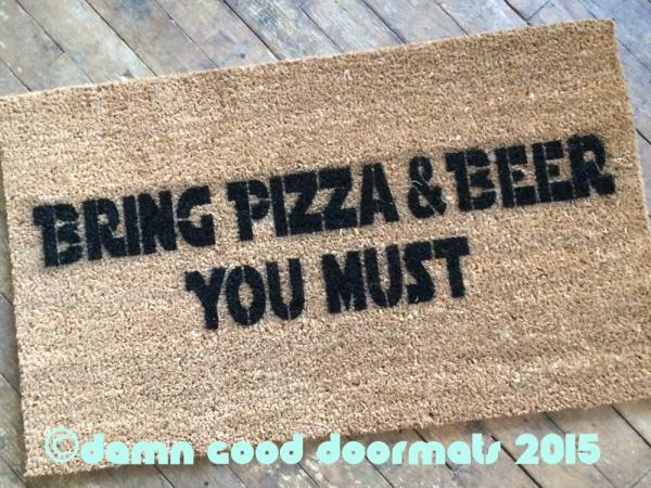 yoda pizza beer Star Wars Yoda doormat