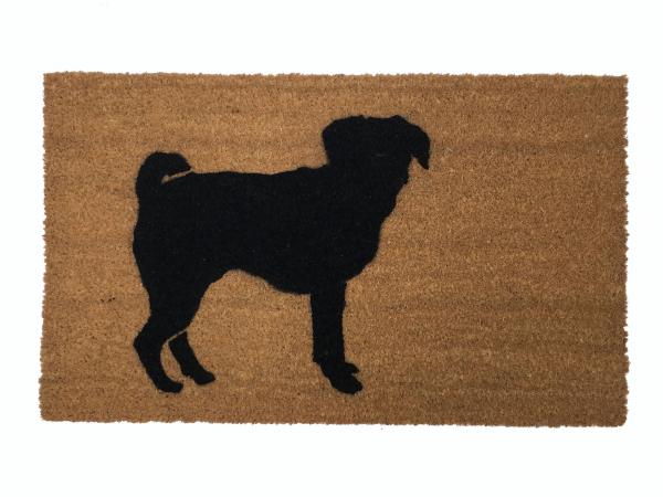 puggle pug beagle funny doormat