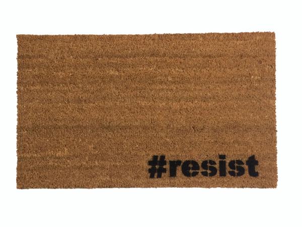 #resist hashtag not my president dump trump doormat