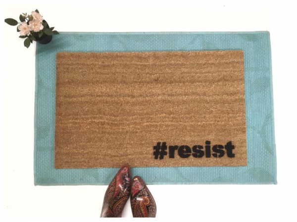 #resist hashtag not my president dump trump doormat