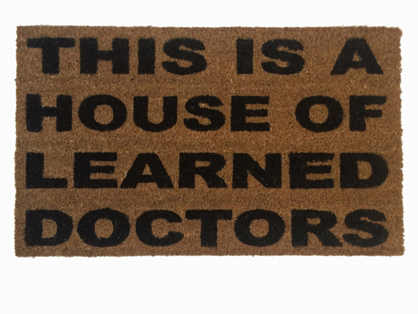 stepbrothers,funny geek welcome rude go away outdoor coir doormat damn good welc
