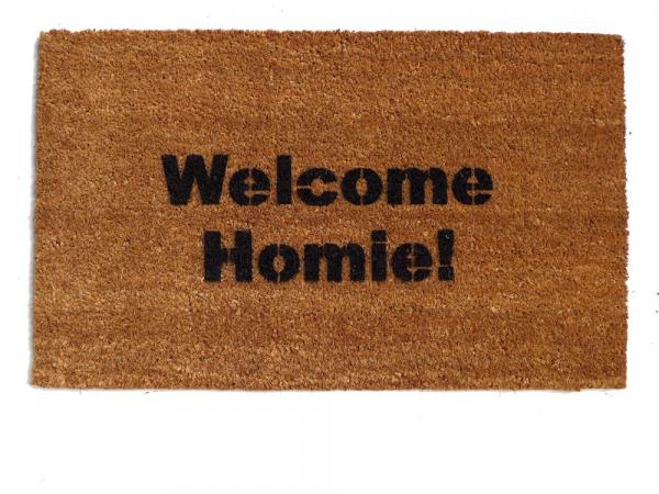 Welcome Homie™ funny door mat  doormat eco friendly Home