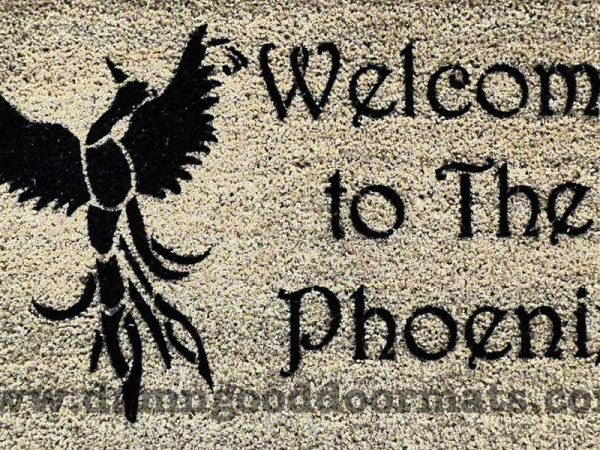 welcome to the Phoenix firebird doormat