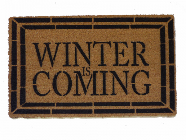 Winter is Coming, game of thrones doormat