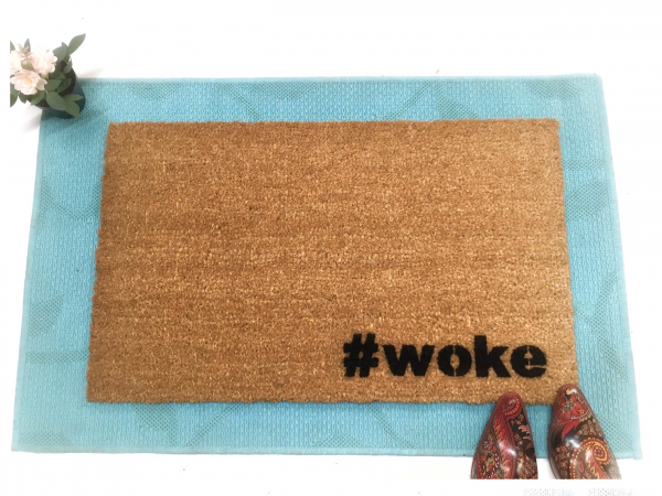 # woke doormat resist