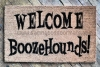Welcome Boozehounds! doormat