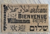 Welcome in all languages doormat