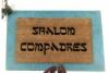 Shalom Compadres™ Jewish Shalom Compadres™ Jewish Spanish Spanish funny doormat