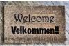 Velkommen!! It's Norwegian AND Danish for Welcome
