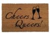 Cheers Queers! JVN Netflix Queer Eye Fab Five LGBTQ doormat
