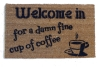 Twin Peaks Damn fine cup of coffee™ doormat