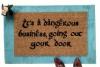 JRR Tolkien DANGEROUS business doormat Gandalf