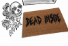 Dead Inside™ Walking Dead Zombie doormat