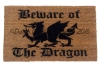 Beware of the Dragon medieval Game of Thrones doormat
