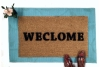 """WECLOME, funny dyslexic """"Still Game"""" doormat"""