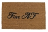 Fine AF sassy funny sexy rude funny novelty doormat