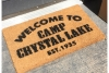 Camp Crystal Lake Friday the 13th doormat1