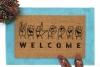 ASL American Sign Language Deaf culture Welcome doormat