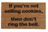 Girl Scout cookie doormat
