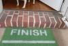 Start / Finish Rat race runner- funny Novelty doormat