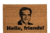 Hello Friends! sports fan doormat