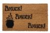Hocus Pocus Amuck™ Halloween Witchcraft cauldron doormat
